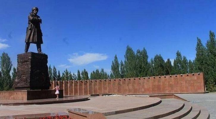 г. Астана. Общий вид мемориала 28 панфиловцам.