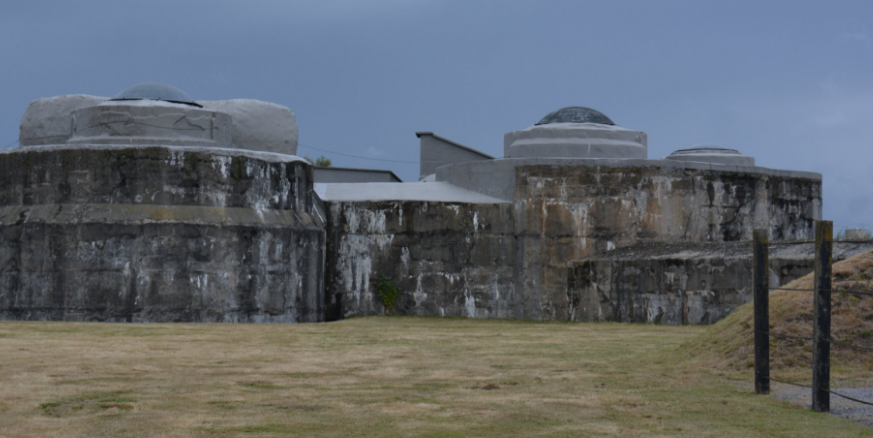 Укрепления форта.