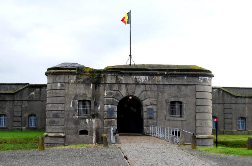Вход в крепость.