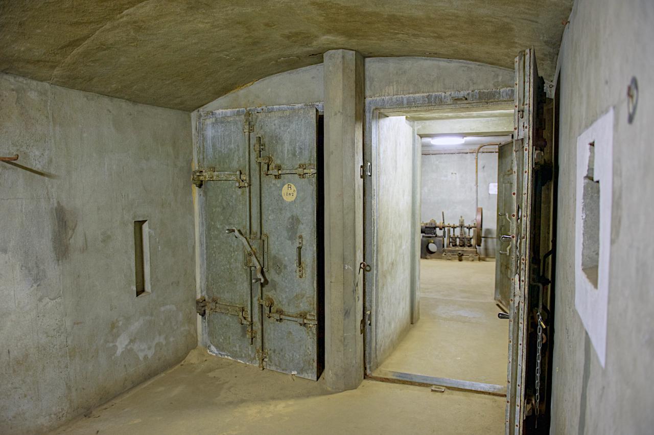 Подземельные помещения форта.