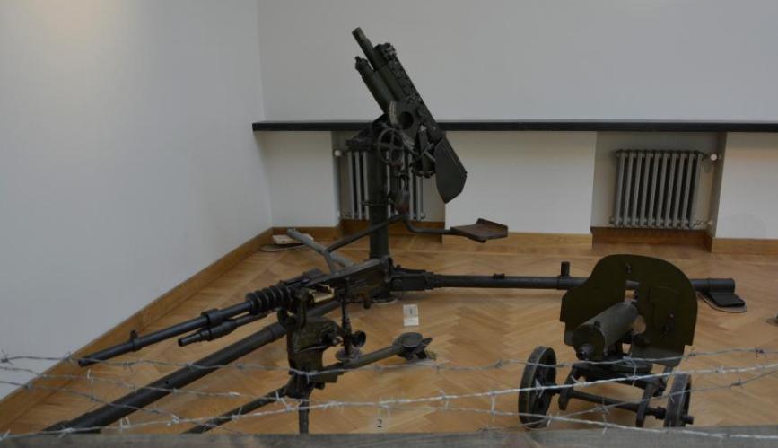 Станковые пулеметы.