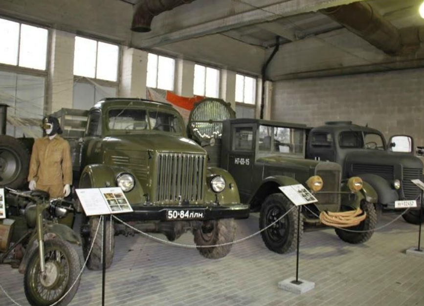 Экспонаты музея.