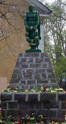 г. Кохтла-Ярве. Старый город. Братская могила советских воинов