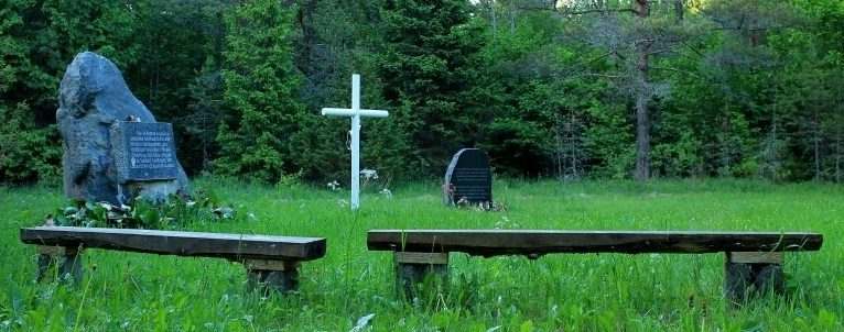г. Таллин. Кладбище ингерманладцев, погибших в годы войны у станции Клоога