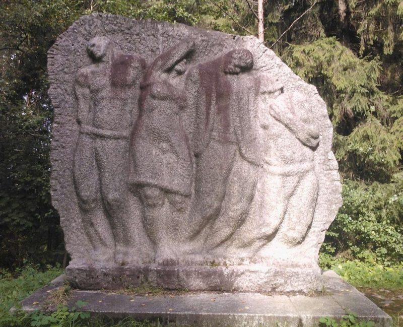 г. Пайде. Памятник жертвам фашизма