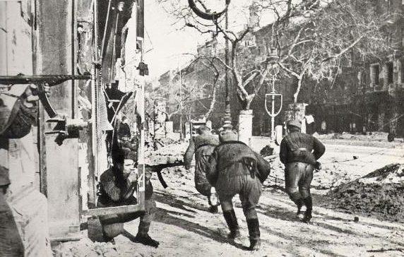 Штурмовой батальон в боях за город