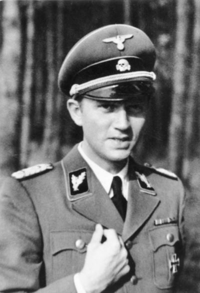 Вальтер Шелленберг. Фото 1943 г.