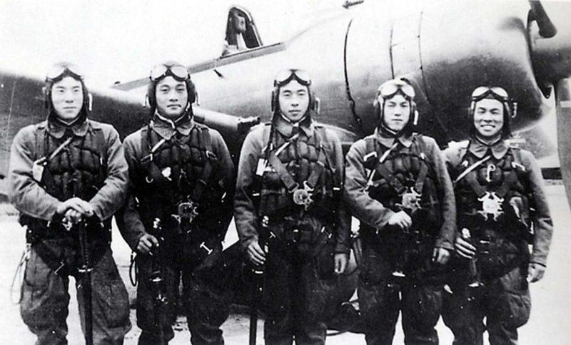Японские пилоты-камикадзе