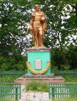 с. Колесниковка Шевченковского р-на центр села. Памятник установлен на братской могиле, в которой похоронено 26 советских воинов