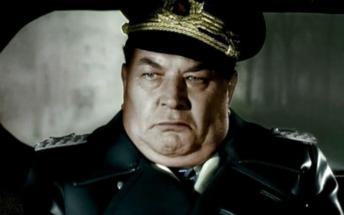 Актер Вильгельм Бурмайер в роли Геринга
