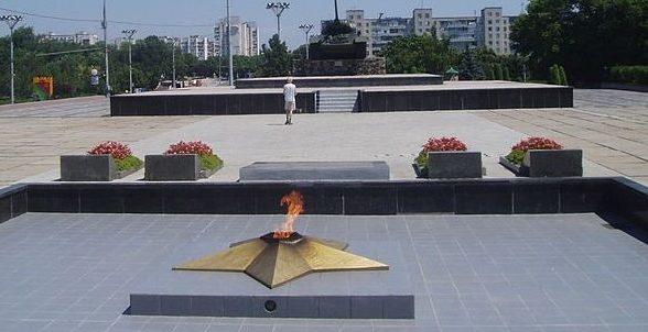г. Тирасполь. Общий вид Мемориала Славы