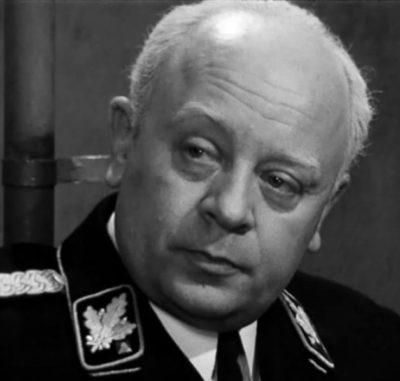 Леонид Броневой в роли Мюллера