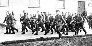 Новобранцы 999-го батальона. 1943 г.