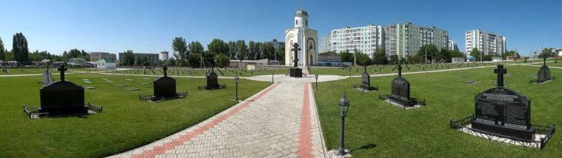 г. Бендеры. Историко-мемориальный комплекс «Бендерское военное кладбище».