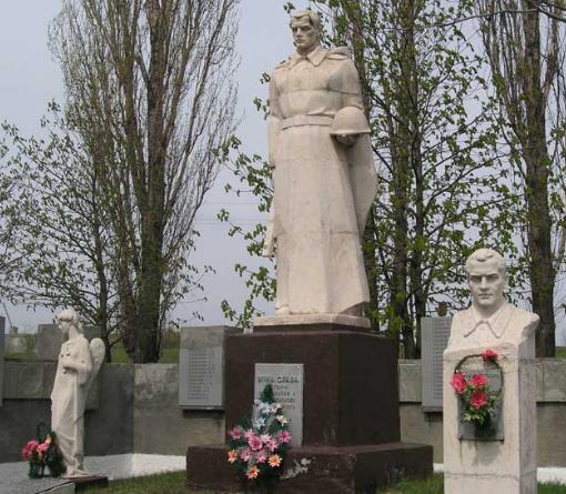 Фрагменты братской могилы