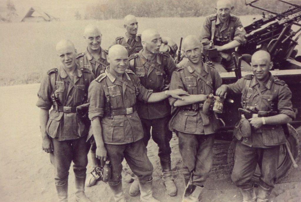 Штрафники 500-го батальона в России
