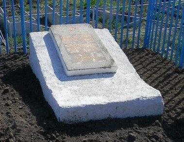 г. Чугуев. Братская могила неизвестных воинов на городском кладбище
