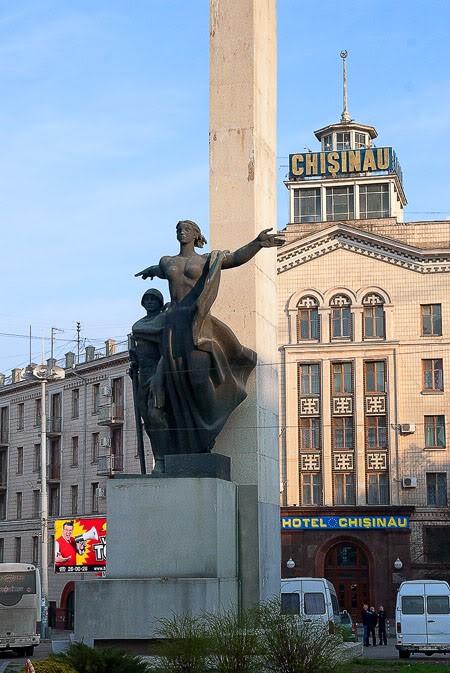 г. Кишинев. Памятник воинам-освободителям Кишинева