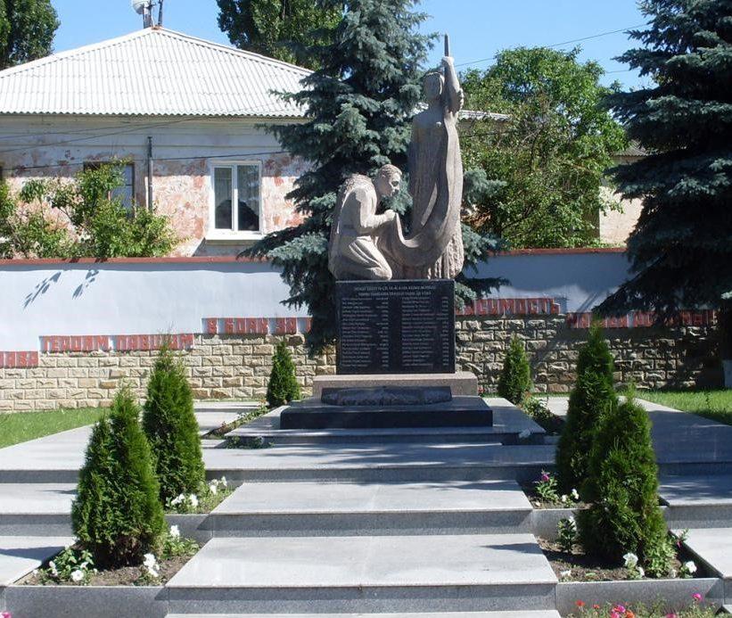 г. Вадул-луй-Водэ муниципия Кишинёв. Мемориал павшим за освобождение города и землякам, погибшим в годы Великой Отечественной войны