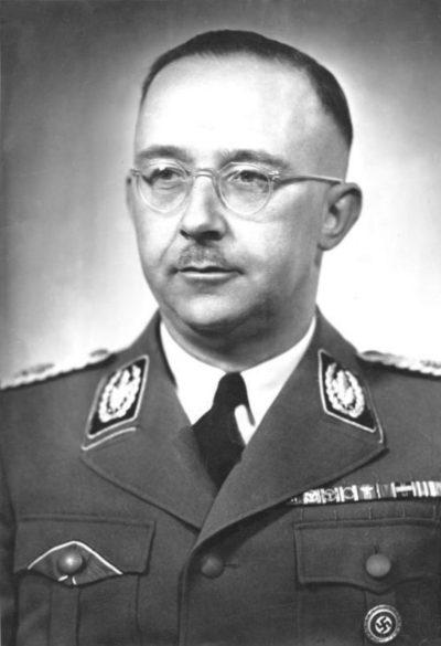 Генрих Гиммлер. Фото 1942 года