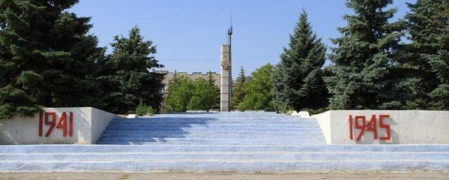 п. Бессарабка Бессарабского р-на. Станция Бессарабская. Мемориал воинам, павшим в годы Великой Отечественной войны