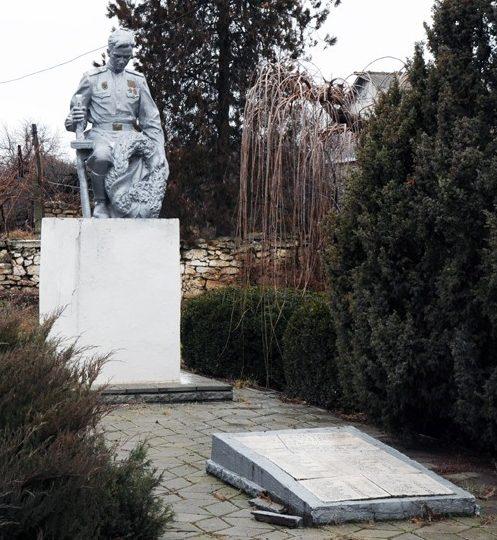 г. Григориополь. Памятник воинам, погибшим в годы войны