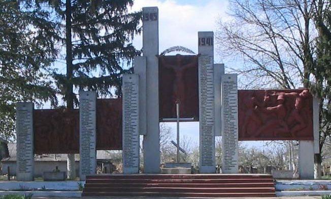 с. Тецканы Бричанского р-на. Мемориал воинам, погибшим в годы Великой Отечественной войны