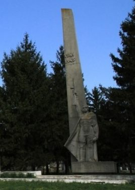 с. Брынзень Глодянского р-на. Памятник воинам, погибшим в годы Великой Отечественной войны