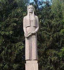 г. Единцы. Памятник «Скорбящей матери»
