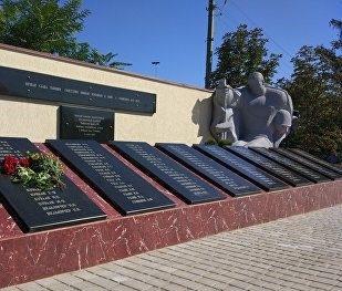 с. Стурзовка Глодянского р-на. Памятник воинам-землякам, павшим на полях сражений