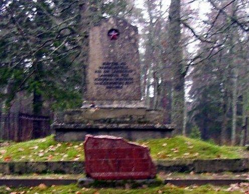 м. Тыстамаа, Тыстамааская волость. Братская могила советских воинов
