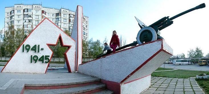 г. Кагул. Памятный знак в честь освобождения города