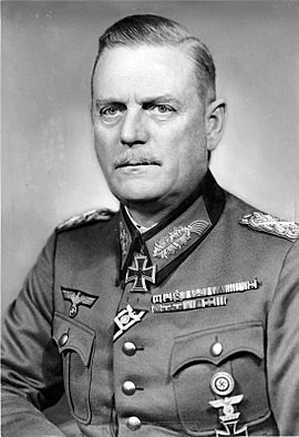 Вильгельм Кейтель. Фото 1944 г.