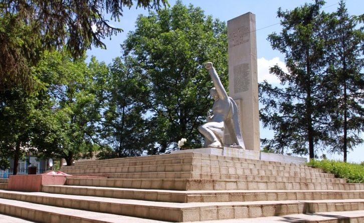 с. Марамоновка Дрокиевского р-на. Памятник воинам, павшим в годы Великой Отечественной войны
