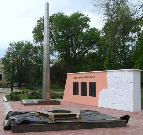 г. Кагул. Памятник защитникам города в парке