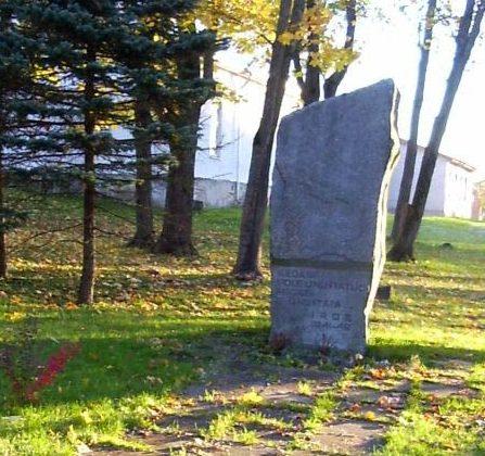 г. Рапла. Братская могила советских воинов