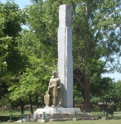 г. Кантемир. Памятник воинам, погибшим в годы Великой Отечественной войны