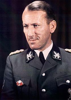 Эрнст Кальтенбруннер. Фото 1942 г.