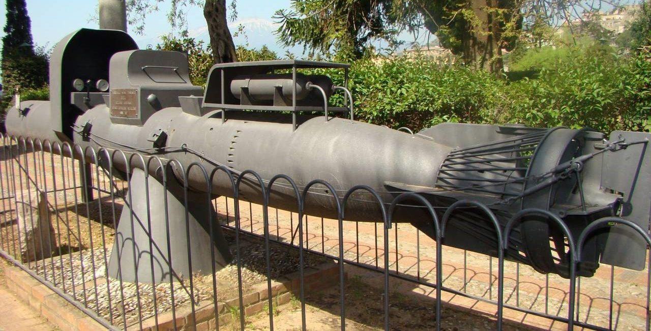 Общий вид управляемой торпеды «Майяле»