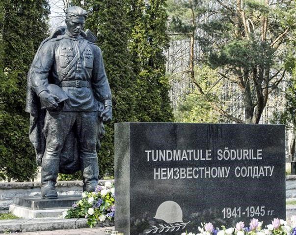 Памятник воину освободителю и стела Неизвестному солдату