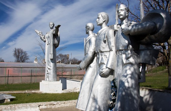с. Тараклия Каушанского р-на. Памятник воинам и односельчанам, погибшим в годы Великой Отечественной войны