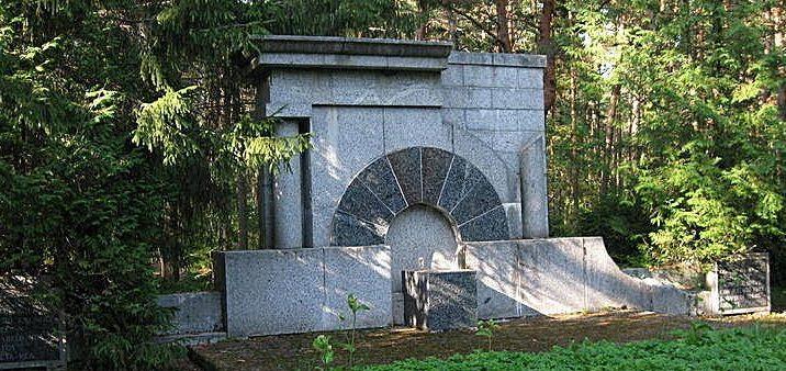 г. Таллин. Памятник погибшим воинам на лесном кладбище (Метсакальмисту)