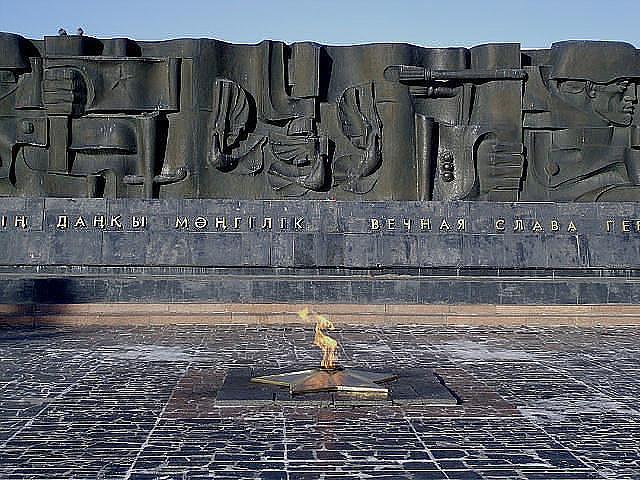 Фрагмент мемориального комплекса.