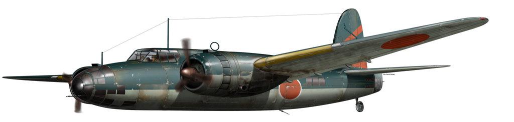 Gomez Luis David. Истребитель Nakajima Ki 49.