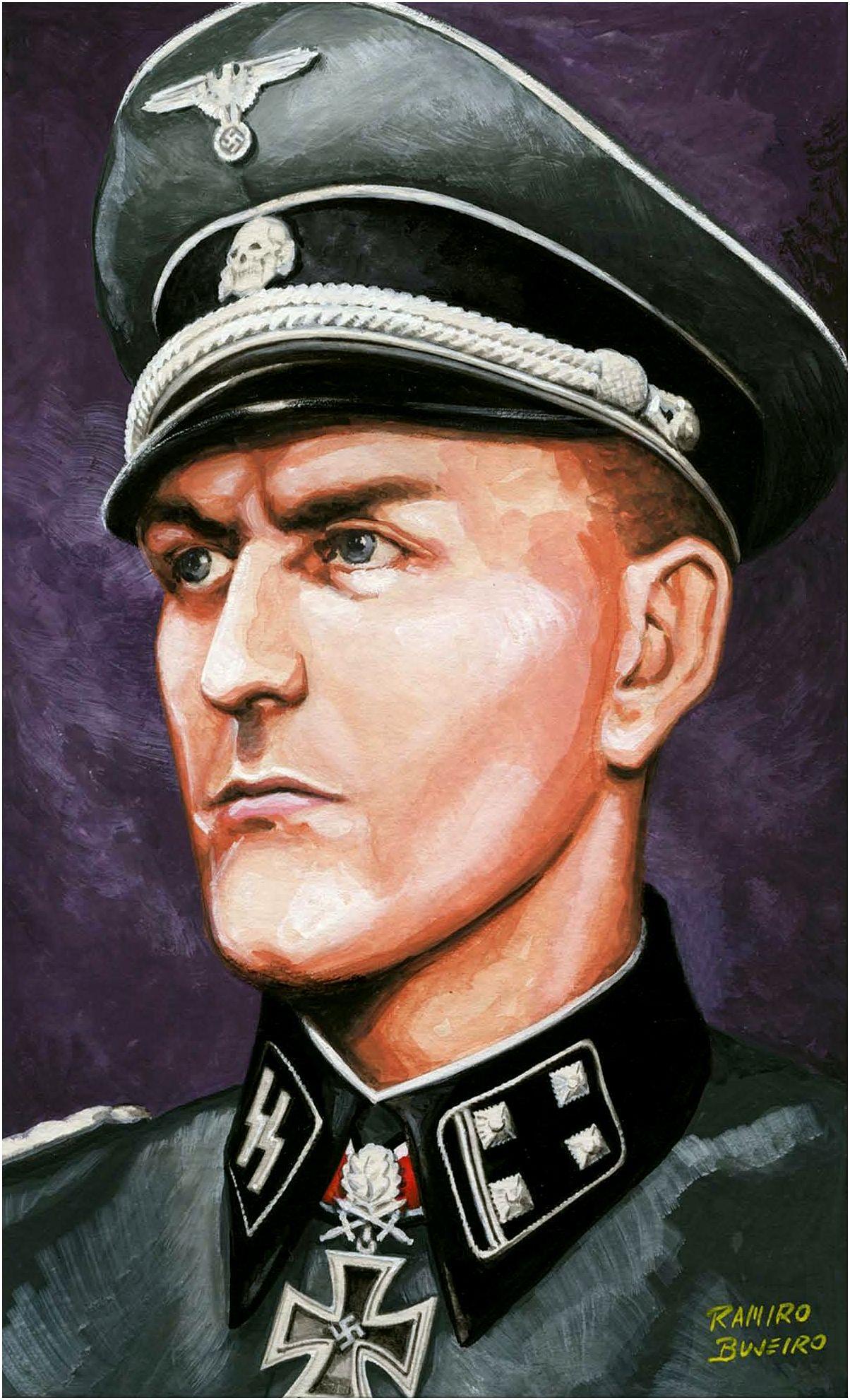 Bujeiro Ramiro. Подполковник Hans Dorr.