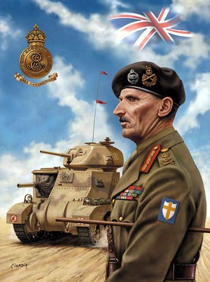 Ciordia Juan Carlos. Генерал Montgomery.