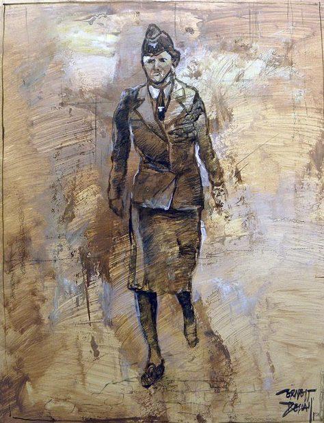 Descals Ernest. Женщины-служащие Вермахта.