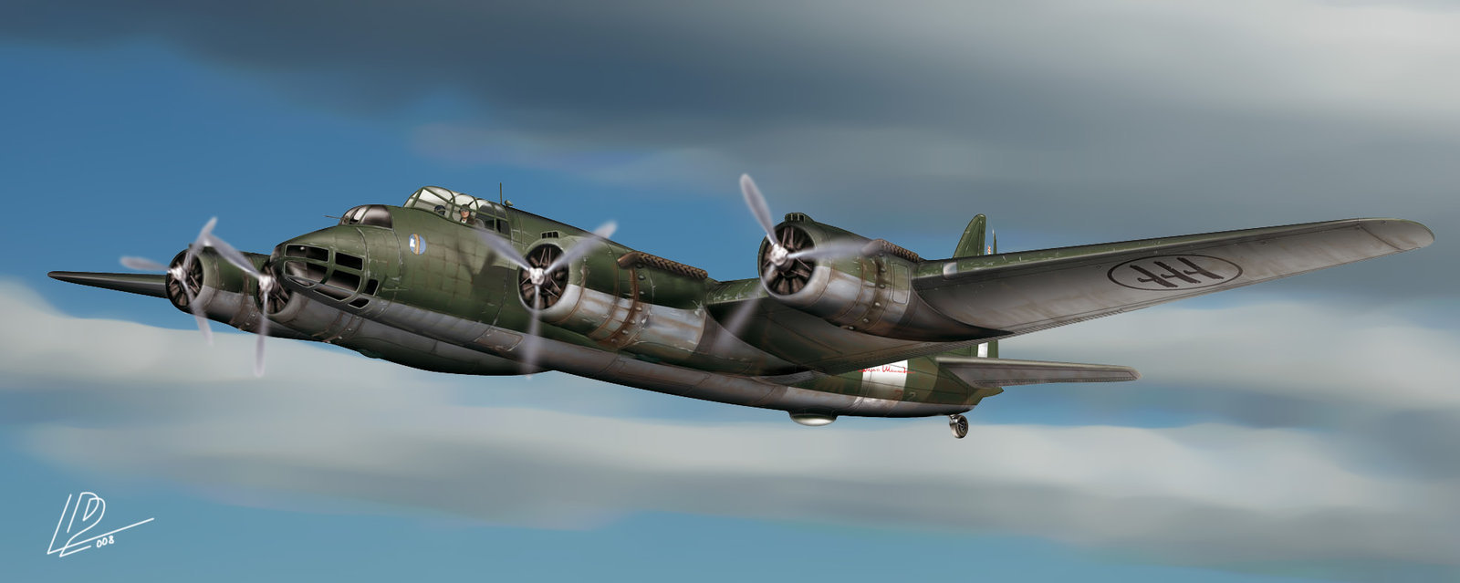 Gomez Luis David. Бомбардировщик Piaggio Aircraft.