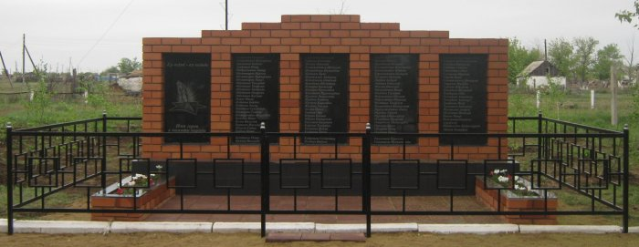 с. Баскамыск Актогайского р-на. Обелиск «Имя героя - в памяти народа» был открыт в 2016 году.