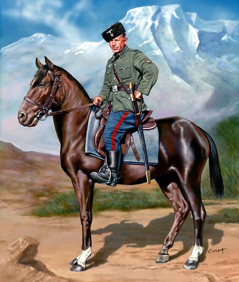 Ciordia Juan Carlos. Доской казак на службе Вермахту.